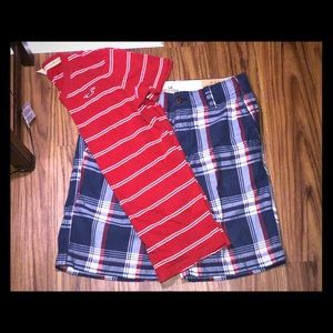 Hollister Plaid Outfit